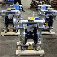 第三代不銹鋼氣動隔膜泵