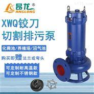 供應潛水式切割泵3kw 無堵塞污水排污泵廠家