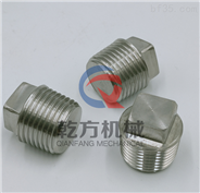 不銹鋼管帽 定做2205 2507材質堵頭 管塞