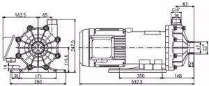 磁力驱动循环泵